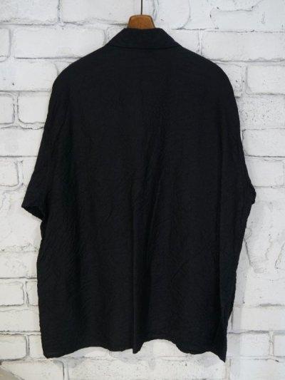 画像3: COMOLI シルクシアサッカーミリタリーシャツ