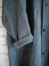 画像3: DEADSTOCK 50's FRENCH WORK BLACK CHAMBRAY COAT デッドストック 50年代 フレンチワーク ブラックシャンブレーコート (3)