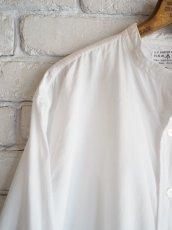 画像2: DEADSTOCK 60〜70's AUSTRALIAN ARMY BAND COLLAR DRESS SHIRT (DOUBLE CUFFS) 60〜70年代 デッドストック オーストラリア軍 バンドカラードレスシャツ ダブルカフス (2)