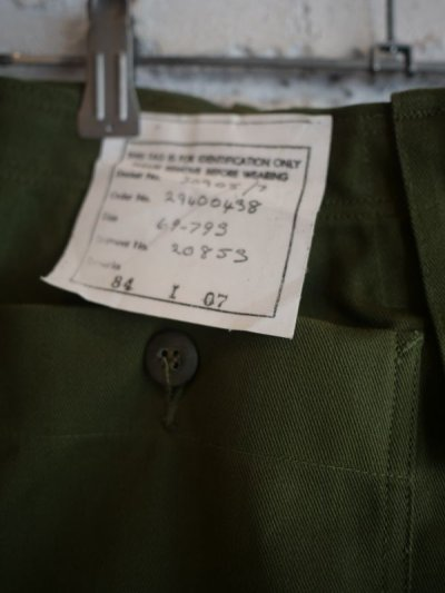 画像3: DEADSTOCK 80's AUSTRALIAN ARMY CARGO PANTS デッドストック 80年代 オーストラリア軍 カーゴパンツ
