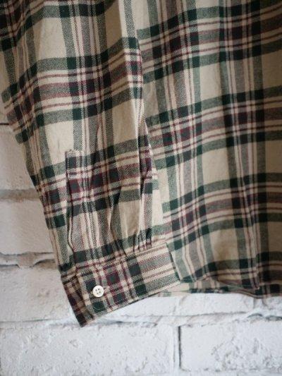 画像3: SUNSHINE+CLOUD スリップオンフランネルチェックシャツ
