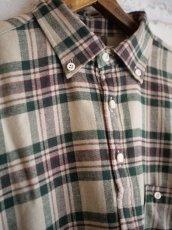 画像5: SUNSHINE+CLOUD スリップオンフランネルチェックシャツ (5)
