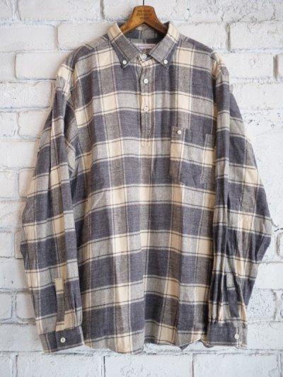 画像1: SUNSHINE+CLOUD スリップオンフランネルチェックシャツ