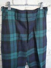 画像2: DEADSTOCK 80's SCOTLAND ARMY PARADE PANTS デッドストック 80年代 スコットランド軍 パレードパンツ (2)