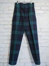 画像1: DEADSTOCK 80's SCOTLAND ARMY PARADE PANTS デッドストック 80年代 スコットランド軍 パレードパンツ (1)