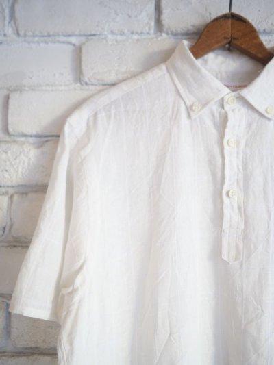 画像2: SUNSHINE+CLOUD カンクリーニ リネン スリップオンシャツ