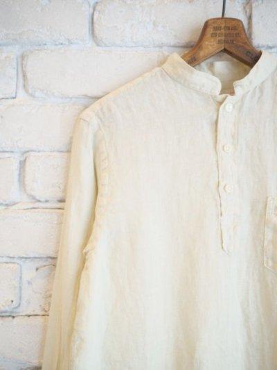 画像2: SUNSHINE+CLOUD リネンニュースタンダシャツ
