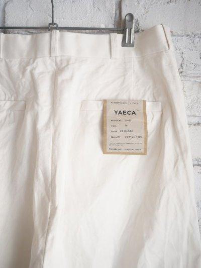 画像3: YAECA(11612)ワイドテーパード チノパンツ