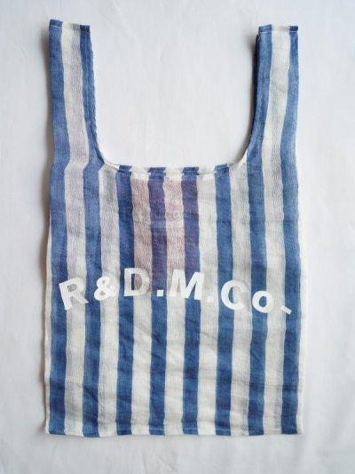 画像1: R&D.M.Co- / OLDMAN'S TAILOR オールドマンズテーラー スイールリネンスーパーマーケットバッグ