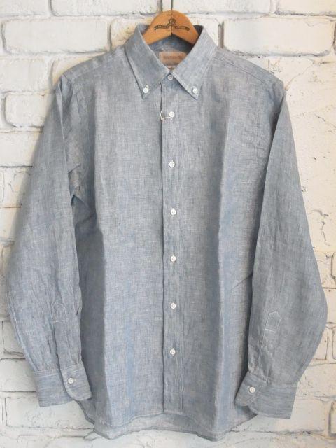 画像1: SOUTIENCOL IVY LEAGUE リネン B.Dシャツ (1)