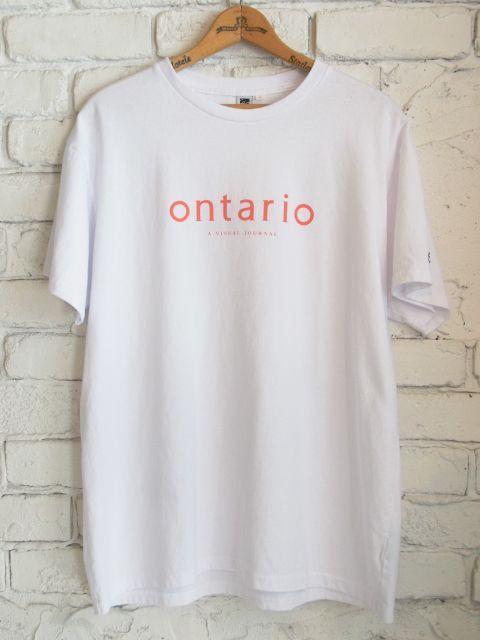 画像1: ontario ロゴTシャツ (1)