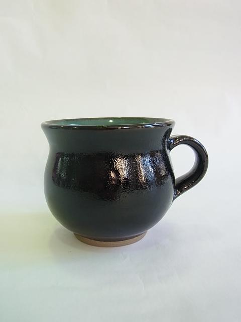 画像1: 牛ノ戸焼 染分モーニングカップ (1)