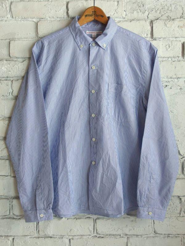 画像1: SUNSHINE+CLOUD ニューウエスト THOMES MASON ボタンダウンシャツ (1)
