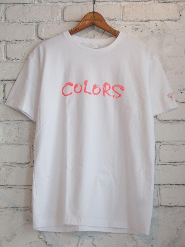 画像1: COLORS ロゴTシャツ (1)