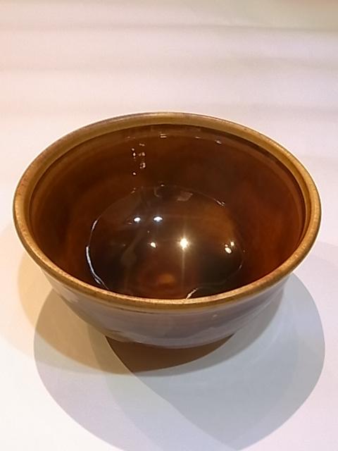 画像1: 出西窯 線紋鉢 5寸 (1)
