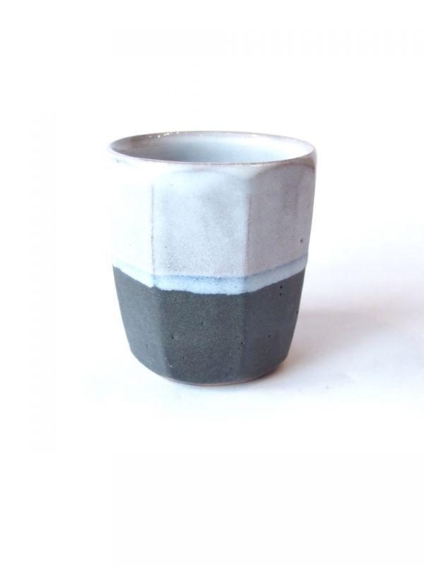 画像1: 山根窯 一個湯呑 (1)