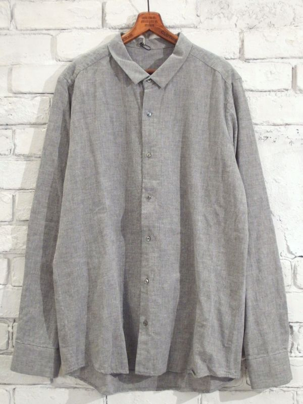 画像1: F/style 【メンズ】ベーシックシャツ/亀田縞 (1)