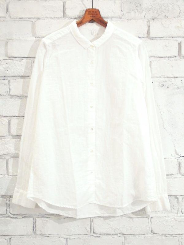画像1: F/style ベーシックシャツ/二重ガーゼ(スピーマ綿) (1)