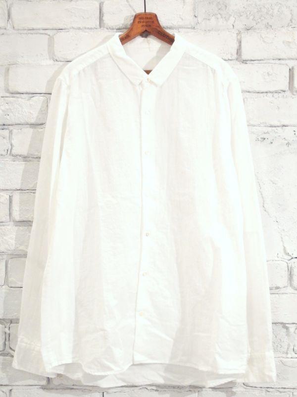画像1: F/style 【メンズ】ベーシックシャツ/二重ガーゼ(スピーマ綿) (1)