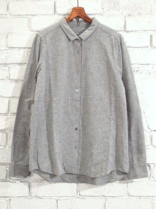 画像1: F/style ベーシックシャツ/亀田縞 (1)