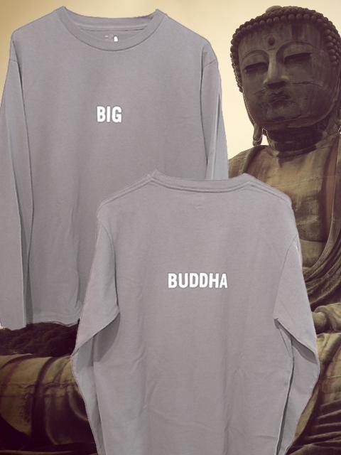 """画像1: grown in the sun  L/S Tシャツ Belluria Kamakura Model """"BIG BUDDHA"""" (1)"""