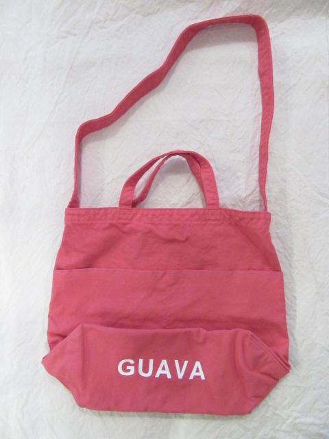 画像1: grown in the sun NEW MARKET BAG GUAVA (1)