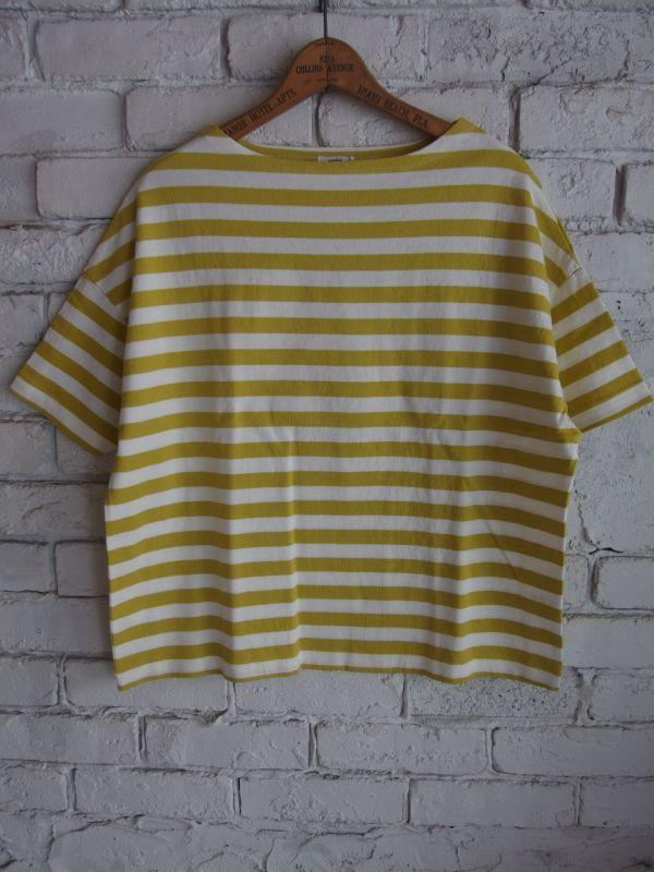 画像1: maillot ボーダーTシャツ (1)