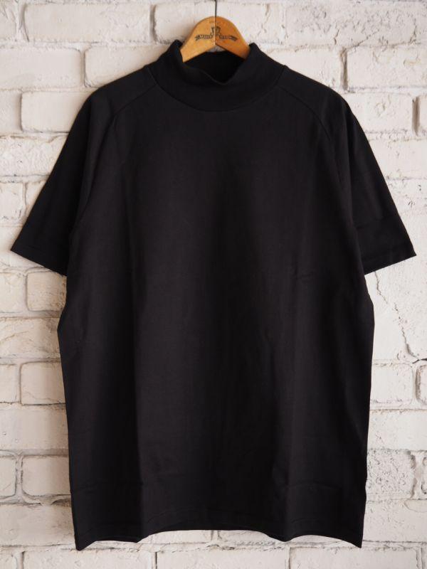 画像1: R&D.M.Co- / OLDMAN'S TAILOR ハイネックTシャツ (1)