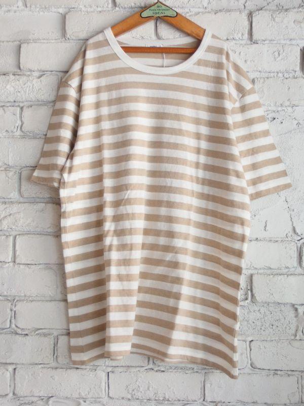 画像1: maillot ライトボーダーTシャツ (1)