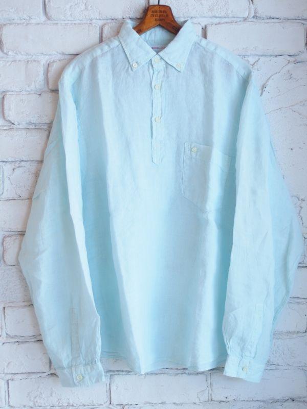 画像1: ●SUNSHINE+CLOUD カンクリーニ リネン スリップオンシャツ (1)