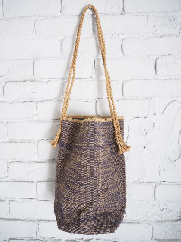 画像1: F/style シナのさき織りバッグ (1)