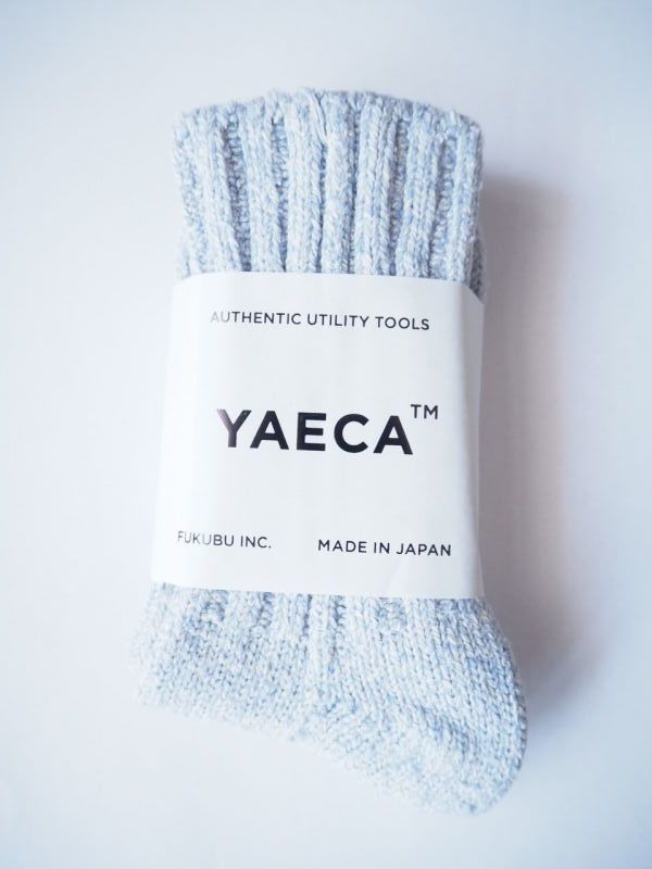 画像1: YAECA×BELLURIA15th COTTON SILK ソックス (1)