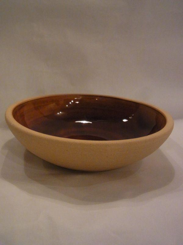 画像1: 出西窯 深皿(7寸) (1)