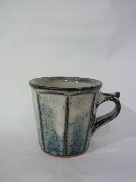 画像1: 湯町窯 切立面取りカップ (1)