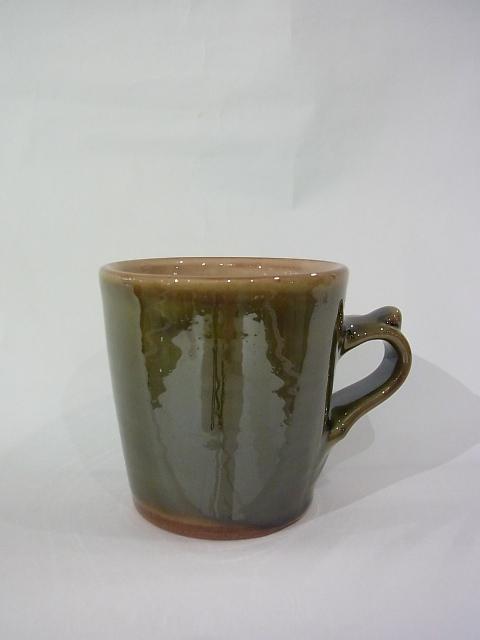 画像1: 湯町窯 手付きカップ (1)