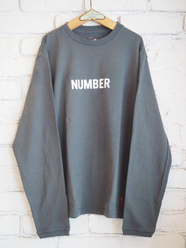画像1: grown in the sun L/S Tシャツ NUMBER-2 (1)