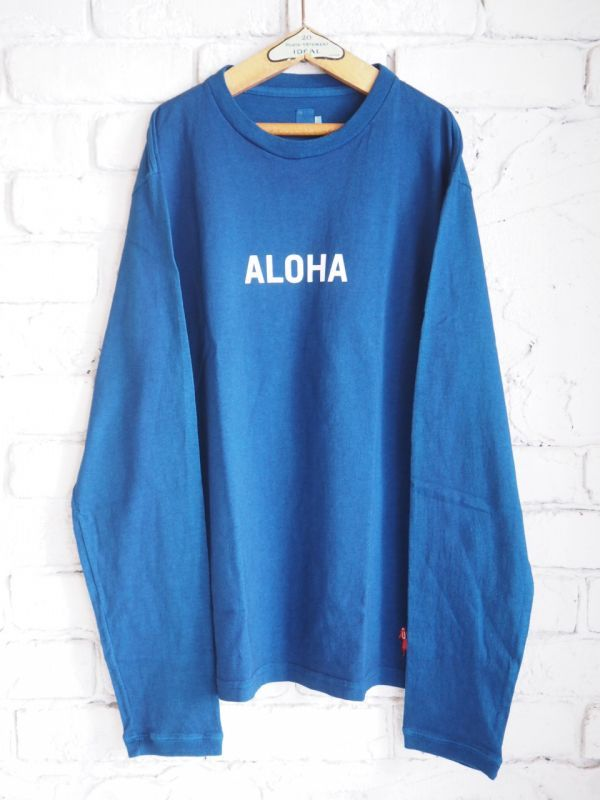 "画像1: grown in the sun L/S Tシャツ Belluria 16th Anniversary Model ""ALOHA-MAHALO"" (1)"