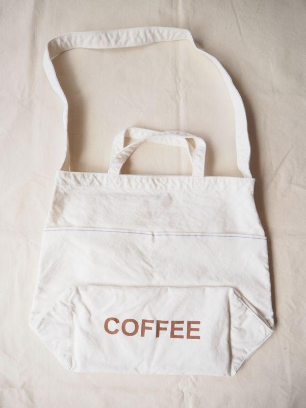 画像1: ●grown in the sun マーケットバッグ COFFEE (1)
