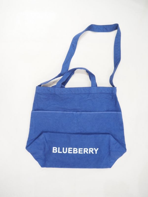 画像1: grown in the sun NEW MARKET BAG BLUEBERRY (1)