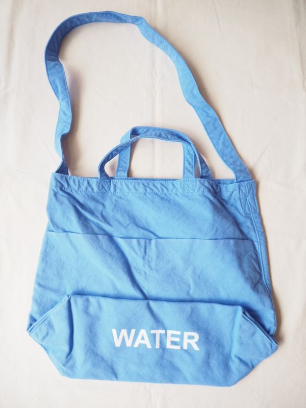 画像1: ●grown in the sun NEW MARKET BAG WATER (1)