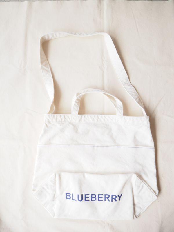 画像1: ●grown in the sun NEW MARKET BAG BLUEBERRY (1)