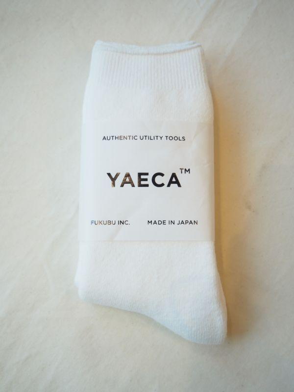 画像1: YAECA COTTON  ソックス (1)