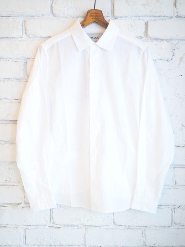 画像1: YAECA【WOMEN'S】(68102)コンフォートシャツ リラックス (1)