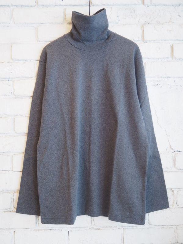 画像1: ANATOMICA TURTLE NECK TEE(タートル ネック ティーシャツ) (1)
