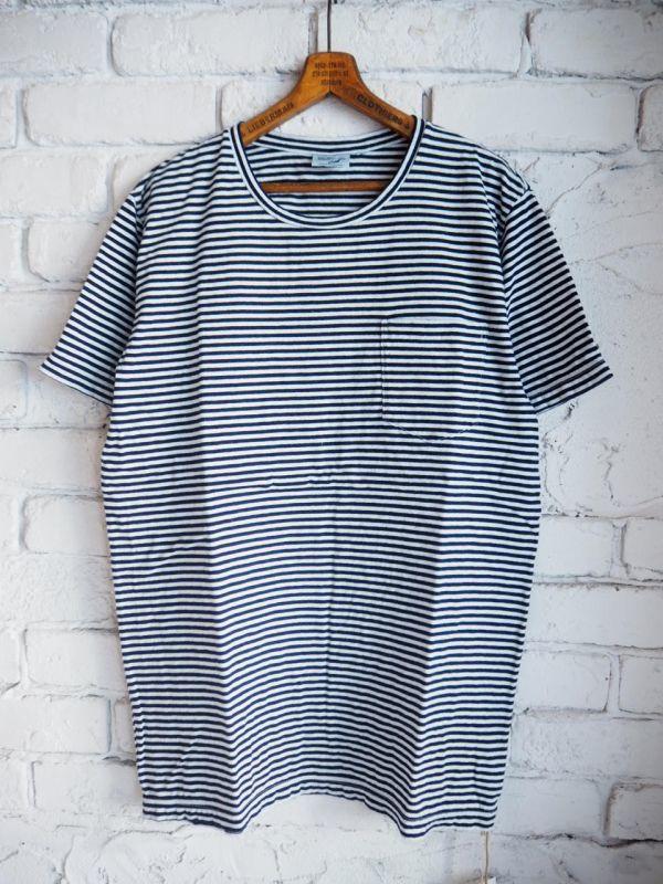画像1: orSlow INDIGO Tシャツ (1)