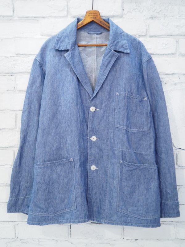 画像1: COMOLI シャンブレ―1938ジャケット (1)