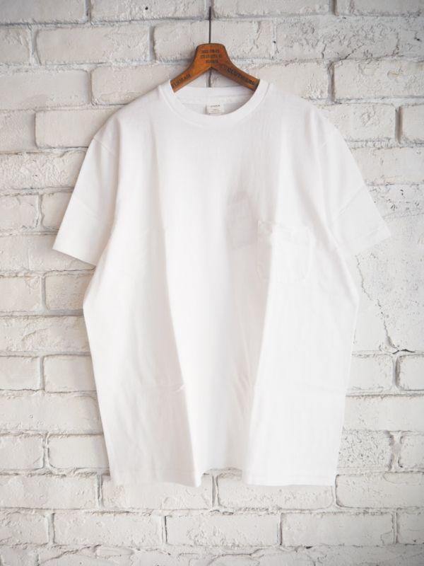 画像1: YAECA (38004) 丸胴クルーネックTシャツ (1)