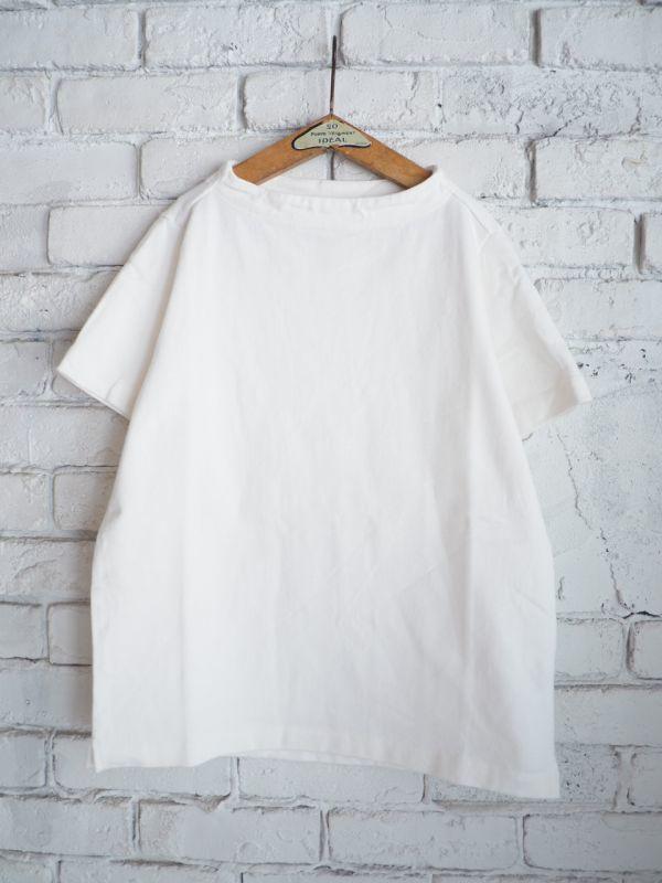 画像1: nisica ガンジーネックTシャツ (1)