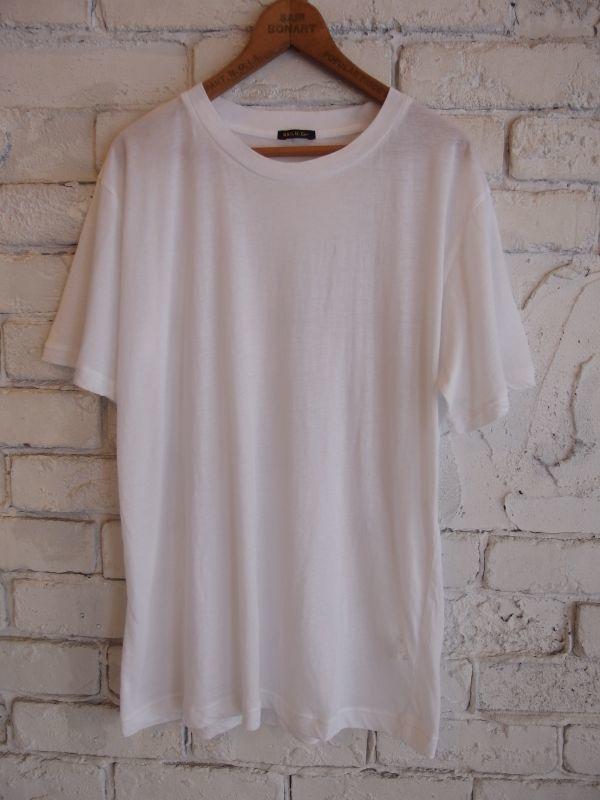 画像1: R&D.M.Co- / OLDMAN'S TAILOR ハイゲージTシャツ (1)