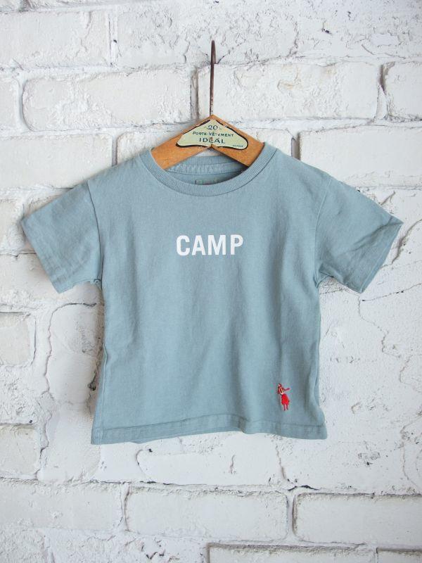 画像1: grown in the sun  キッズTシャツ CAMP (1)